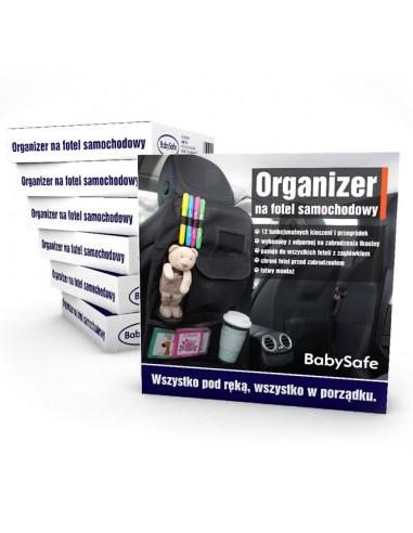 BabySafe organizer na przedni fotel